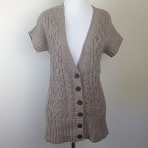 Abercrombie & Fitch Button Cardigan large
